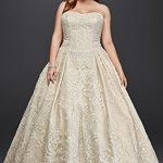 Oleg-Cassini-Plus-Size-Lace-Tulle-Wedding-Dress-Style-8CWG635-0